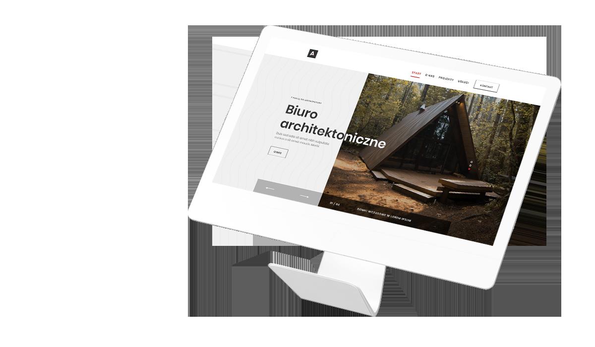 WordPress - firmowa strona www Arch&Tech